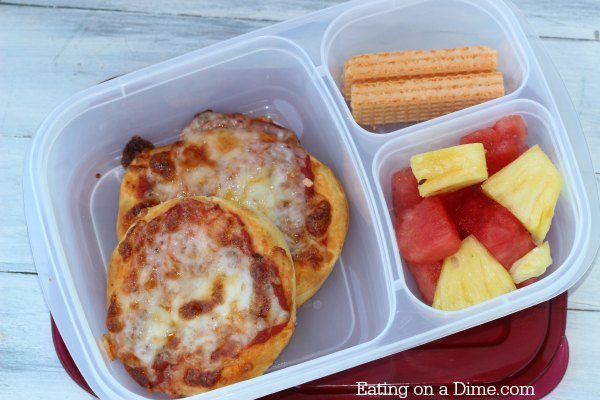 biscuit pizza lunch idea