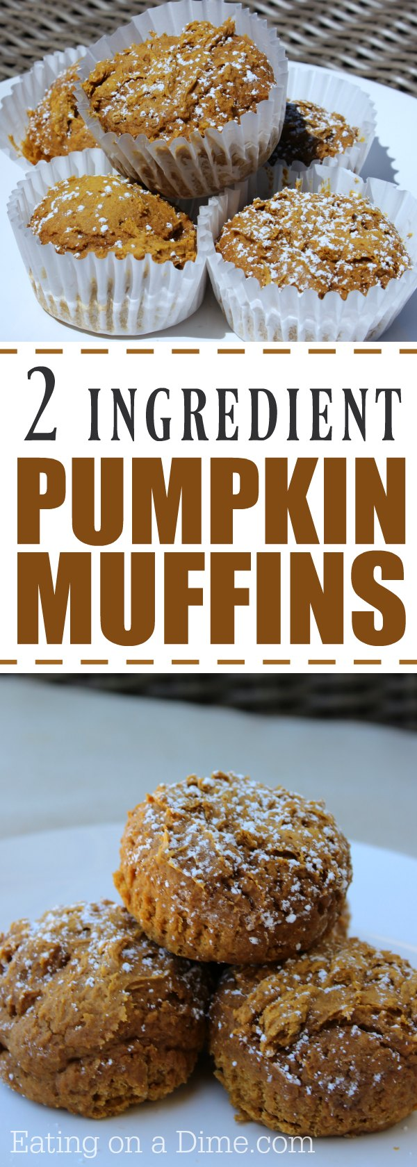 Muffin Recipe With Pumpkin And Cake Mix