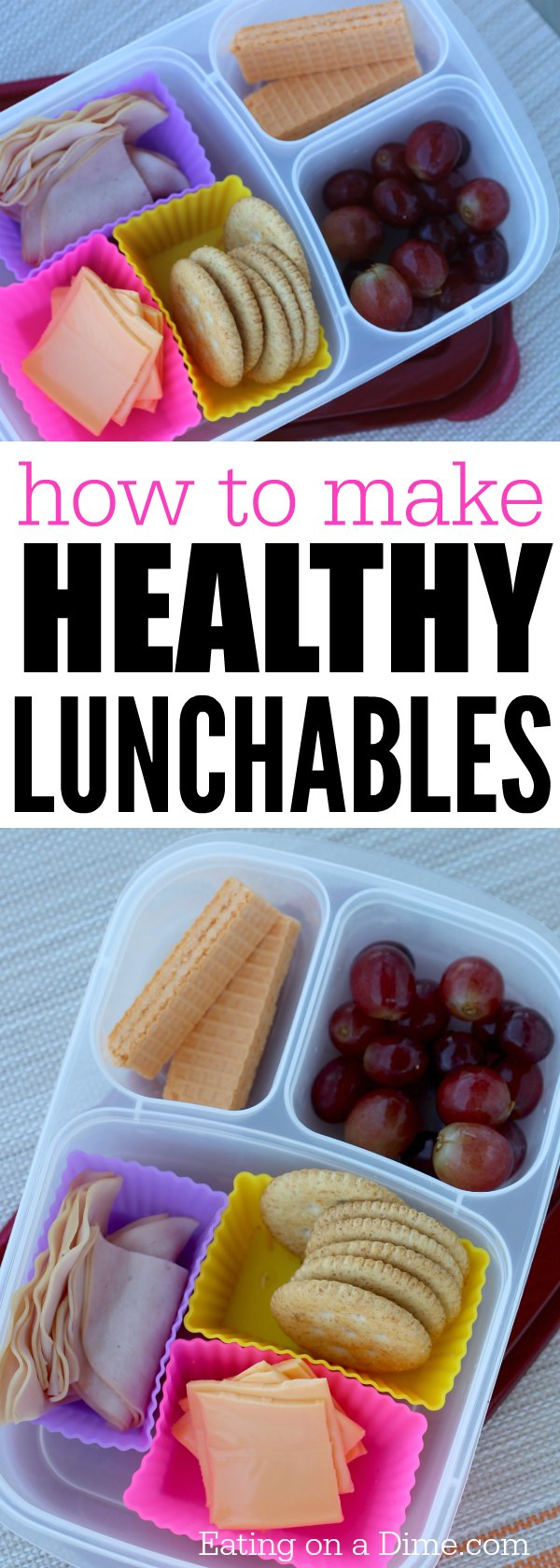 how to make healthy lunchables at home