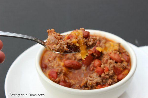 Chili recipes easy fast