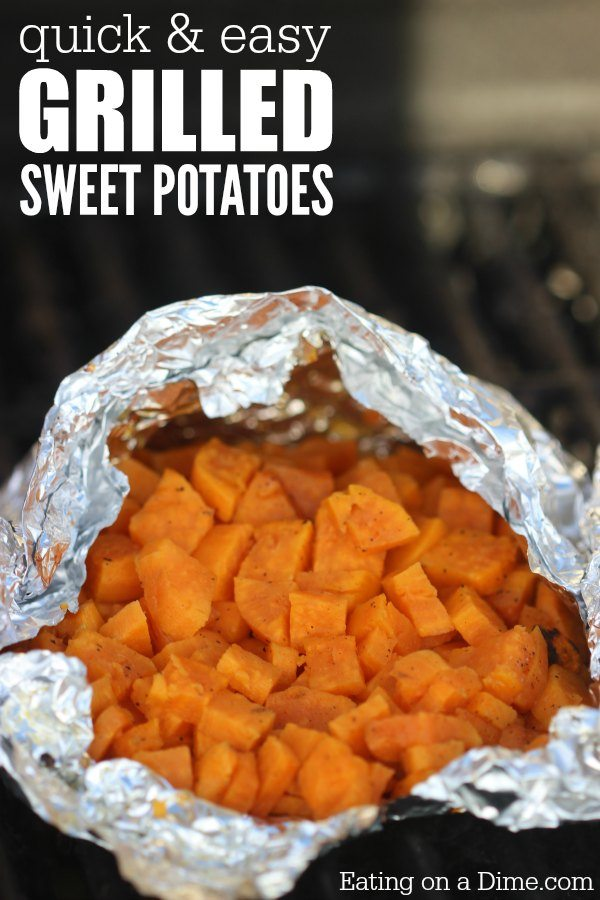 grilled sweet potatoes recipe - easy Sweet potatoes on the ...