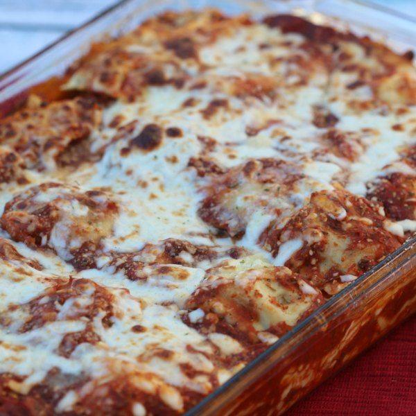 Easy Baked Ravioli Recipe