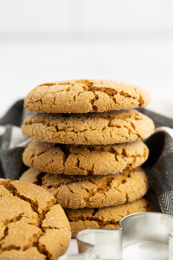 Chewy Gingerbread Cookies Soft And Chewy Old Fashion Gingerbread