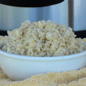 how to cook perfect brown rice in pressure cooker