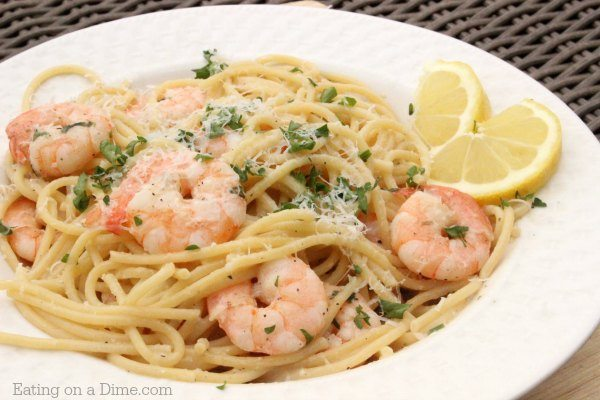 You Are Going To Love This Lemon Garlic Shrimp Scampi Recipe