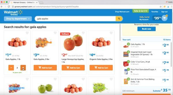 See how I save time grocery shopping! Walmart grocery pickup is the new way to save time and money. Try buying groceries through Walmart online shopping and let Walmart shop for you!