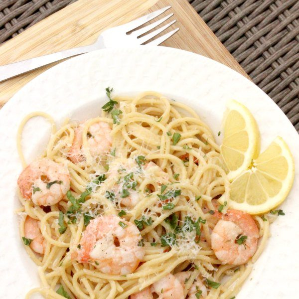 how to make shrimp scampi pasta