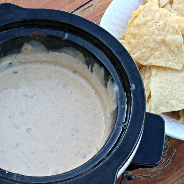 Crock Pot Mexican White Cheese Dip Recipe White Queso Dip