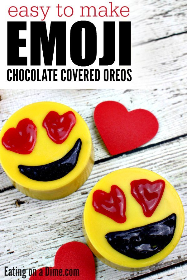 How To Make Emoji Chocolate Covered Oreos Eating On A Dime