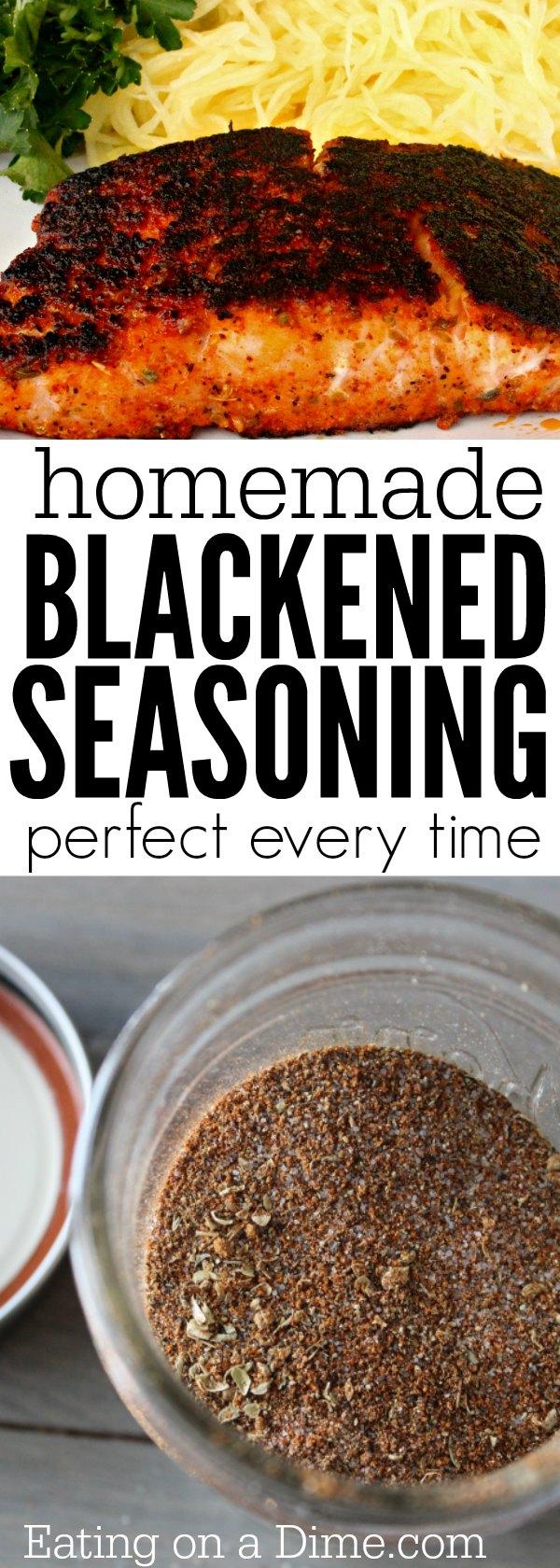 Homemade blackened seasoning recipe eating on a dime for Fish seasoning recipe