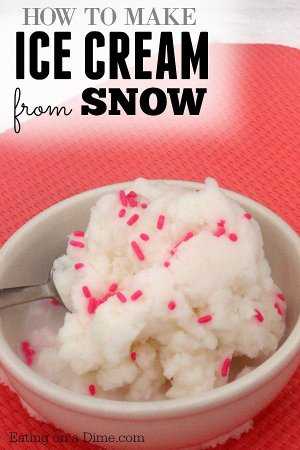 Snow ice cream recipe how to make ice cream from snow how to make ice cream from snow enjoy some winter fun by making this quick ccuart Images