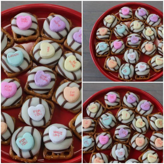 These Valentine's Day White Chocolate Pretzels recipe are the perfect Valentine Desserts! Give your loved one these pretzel kisses!