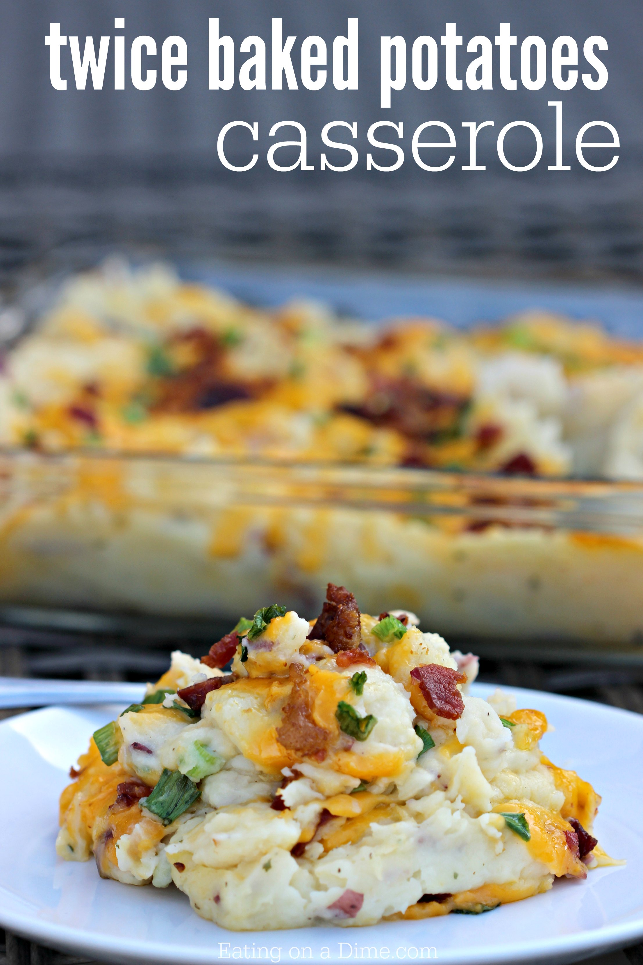 twice baked potatoes instant pot baked potatoes casserole recipe 12446
