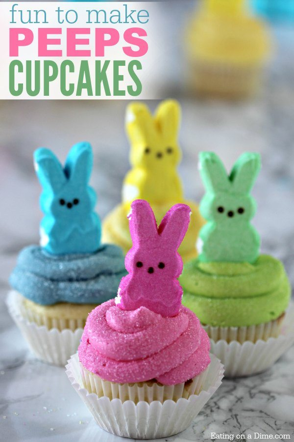 These Ps Cupcakes Are Adorable Easy Easter To Make In Minutes