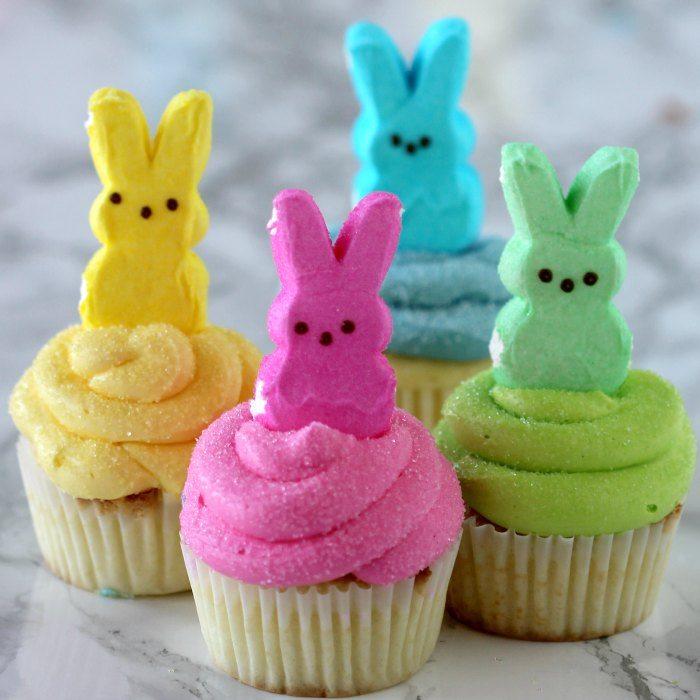 Adorable Peeps Cupcakes