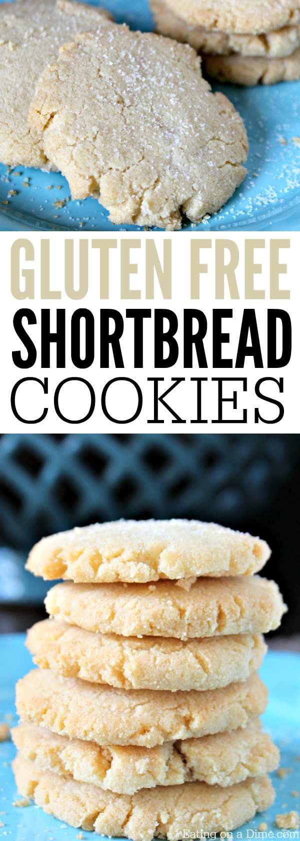Looking for an delicious gluten free cookies recipe? You are going to love this Easy Gluten free shortbread cookies recipe.