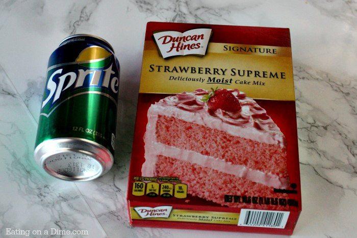 Cake mix and soda cake recipes