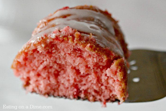 Strawberry Cake Recipe With Strawberry Extract Only