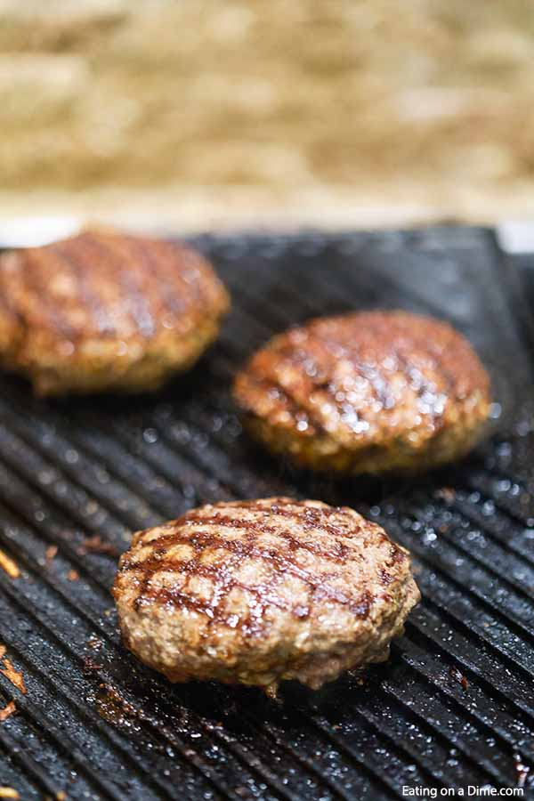 Grilled Taco Burger is a tasty twist on a traditional burger with lots of Mexican flavor, pico de gallo and melted cheese. Try Grilled Taco Burger Recipe.