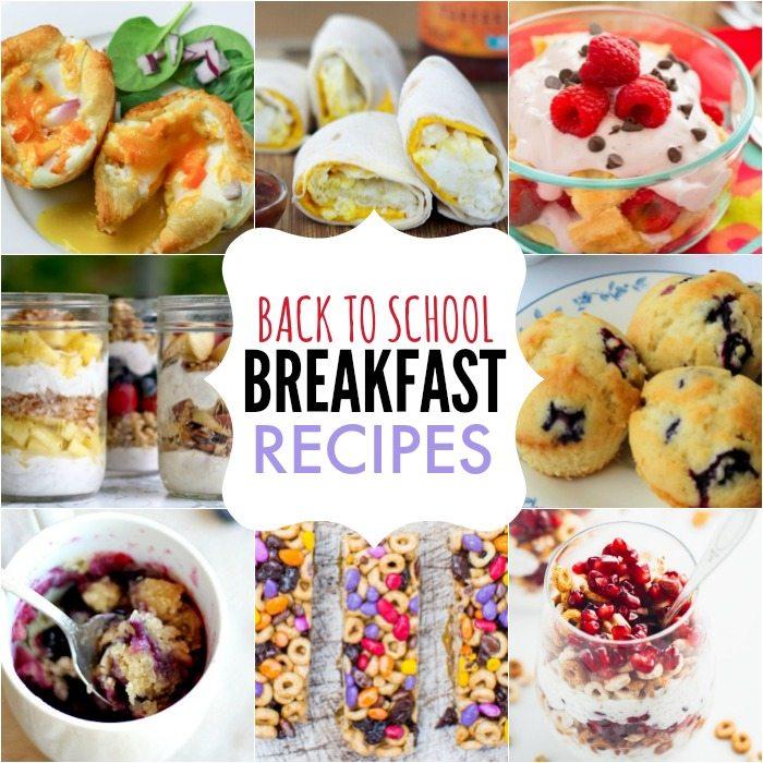 35 Back To School Breakfast Ideas Easy Breakfast Recipes