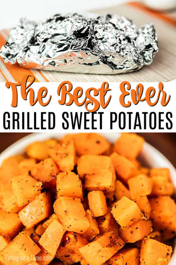 Try these Grilled Sweet Potatoes for a savory and sweet side dish that is delicious. You are going to love how easy this Grilled Sweet Potatoes Recipe is.