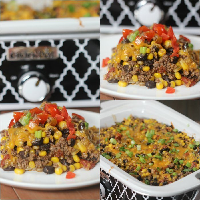 Crock Pot Mexican Taco Casserole Recipe