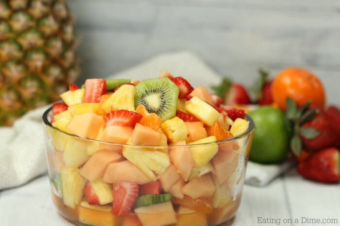 Try This Simple Tropical Fruit Salad Recipe It Is The Best Fruit Salad With An