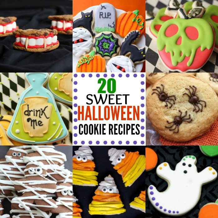 Check Out These Easy Halloween Cookie Recipes For Kids 20 Fun And Frightening