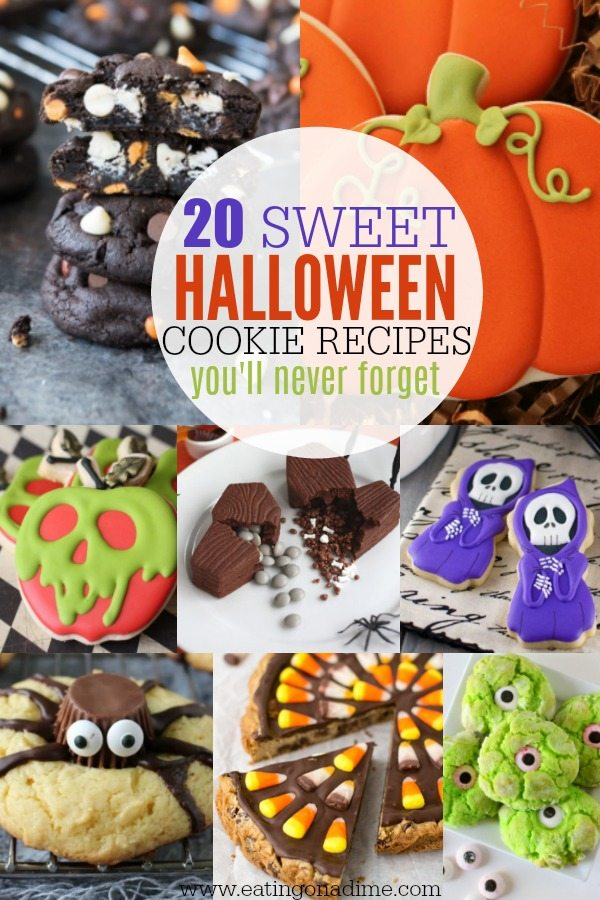 Easy Halloween Cookie Recipes For Kids 20 Halloween