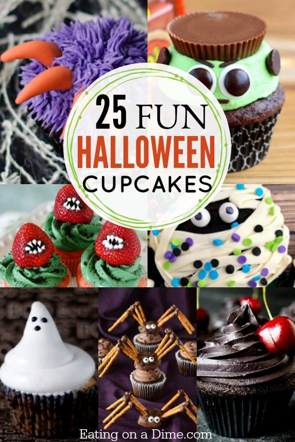 try these fun and easy halloween cupcakes ideas that kids are going to love 25