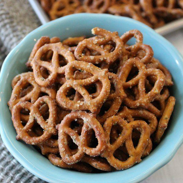 garlic pretzels