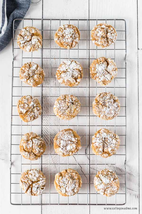 Oh my this Pumpkin Cookie recipe is amazing! You can make them in under 15 minutes, with very few ingredients. Try this Pumpkin Spice Cookies Recipe today! These pumpkin cookies are soft and easy to make.  This is my favorite of all the pumpkin cookie recipes! #eatingonadime #pumpkinrecipes #cookierecipes