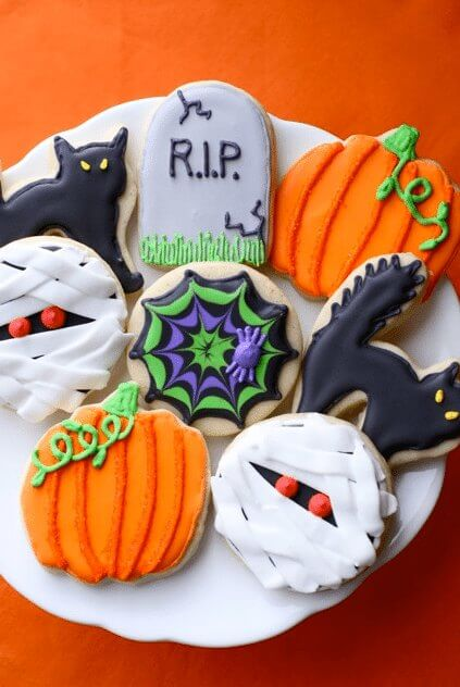 Easy Halloween Cookie Recipes for Kids , 20 Halloween
