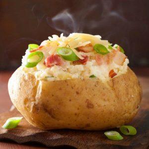 baked potato microwave instructions