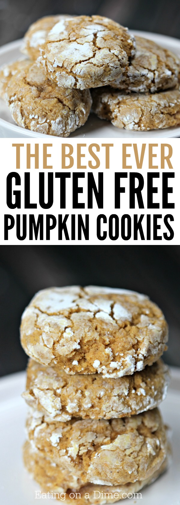 Get all the instructions here for gluten free pumpkin cookies recipe. They are so good that no one will notice it doesn't include gluten. So easy!