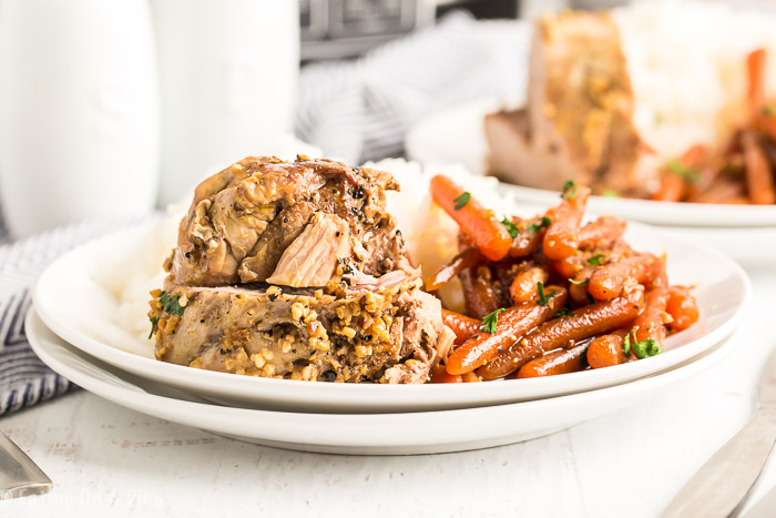 You have to try Slow Cooker Pork Tenderloin with honey. This meal is so delicious. With only a few ingredients, pork tenderloin slow cooker recipe is easy.