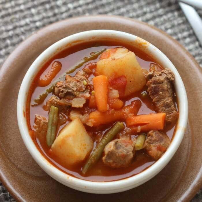 Quick & Easy Crock Pot Beef Stew Recipe