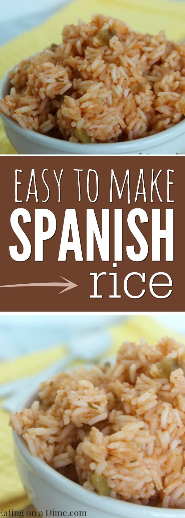 This recipe for Spanish rice tastes just like the restaurants. Try this easy Spanish rice recipe. Homemade Spanish rice is so good.Best Spanish rice recipes.