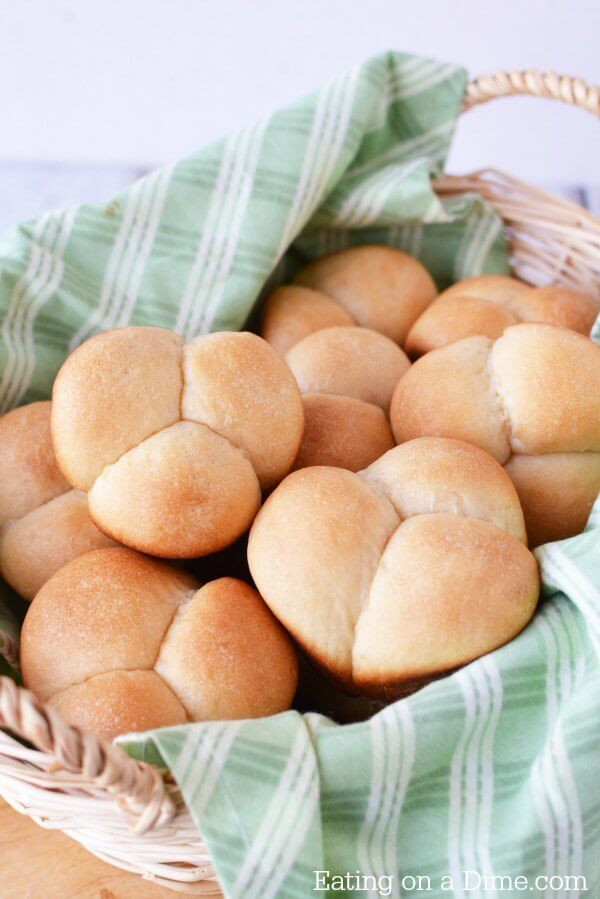 This Easy Homemade Dinner Rolls Recipe Is So Delicious You Will Love Yeast