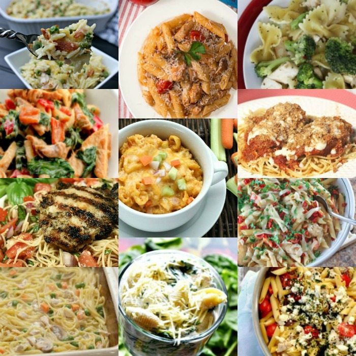 Quick And Easy Chicken And Pasta Recipes