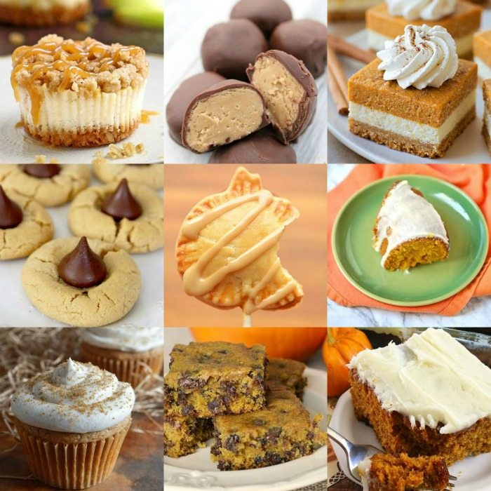 Everyone knows the best part of Thanksgiving is the dessert table. So round yours out with a few classics, like pumpkin pie, but save room for new favorites, too, .