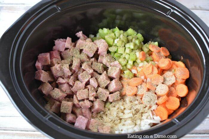 Ham And Bean Soup Crock Pot Recipe Easy Crock Pot Ham