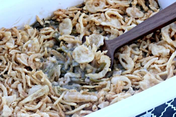 how to cook green bean casserole in oven