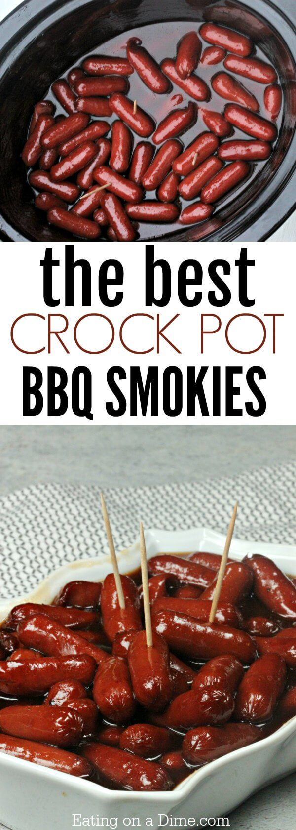 Crockpot Bbq Little Smokies Only 3 Simple Ingredients
