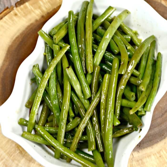 Grilled Green Bean Side Dish Recipe