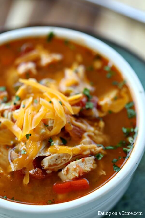 Crock Pot Chicken Fajita Soup Low Carb Crock Pot Chicken Fajita Soup Recipe