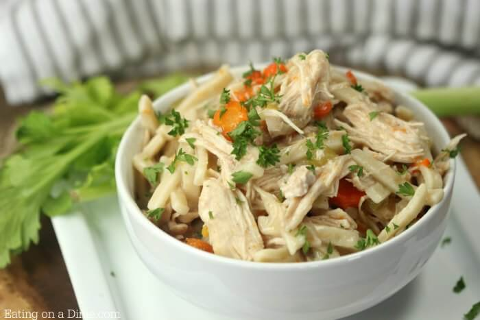 You are going to love this Instant Pot Chicken Noodle Soup Recipe.It is the best chicken noodle soup recipe! Easy Chicken Noodle Soup Instant Pot Recipe.