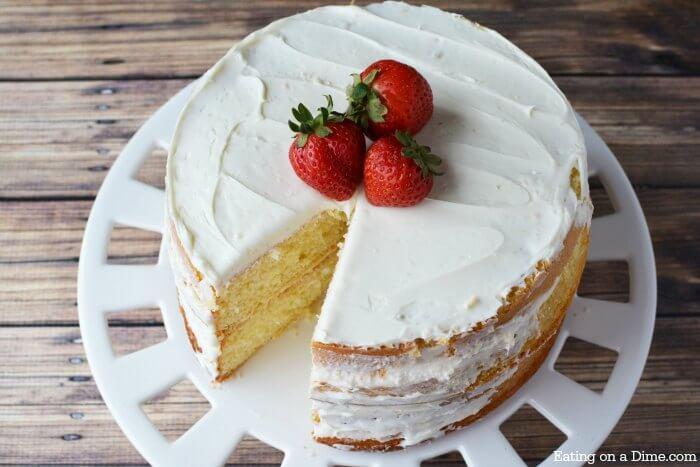 How To Make Half Chocolate Half Vanilla Round Cake