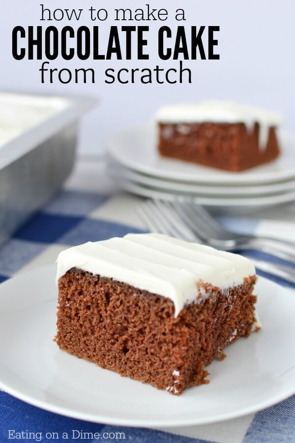 Learn How To Make A Chocolate Cake From Scratch This Easy Recipe Is