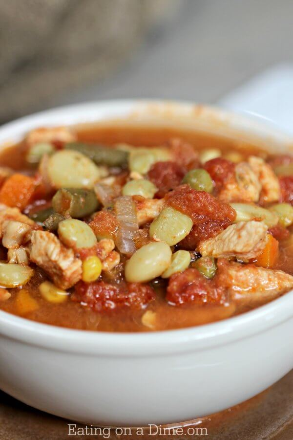 Instant pot Chicken Vegetable soup recipe is the best soup for a cold day.Pressure cooker recipes make dinner time so quick! Chicken Veggie soup is hearty!